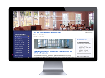 Example web site: Sound-proof windows